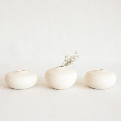 Ceramic Pebble Vase