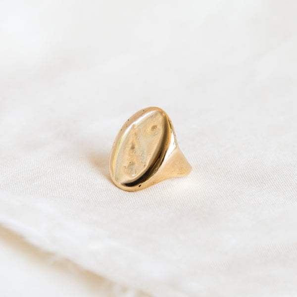 Compass Pinky Ring
