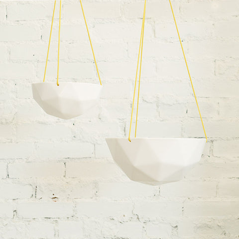 Geodesic Hanging Planter