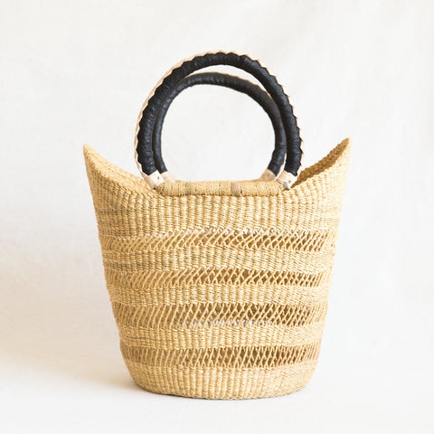 Lace Shopper Basket