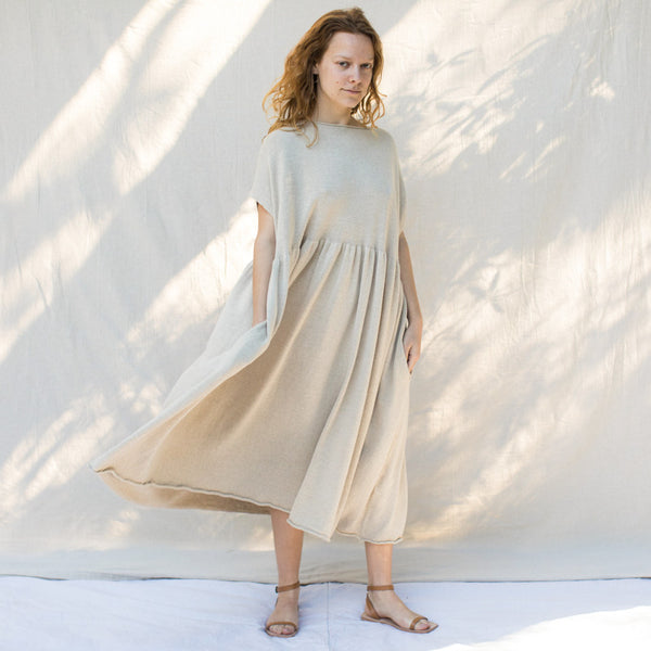 Tier Caftan - Natural