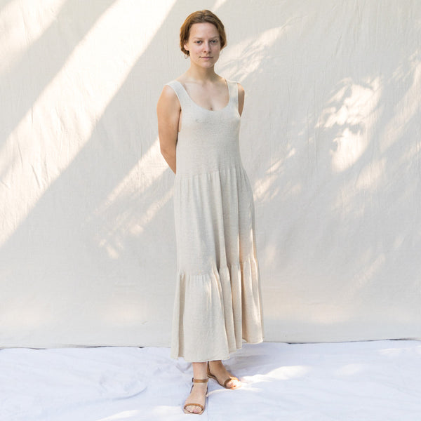 Tier Dress - Natural