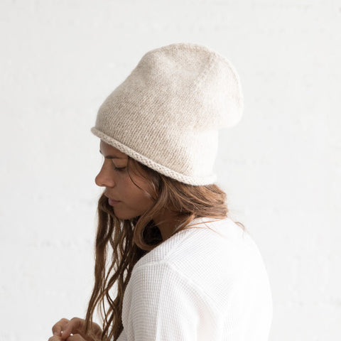Crown Beanie - Hessian