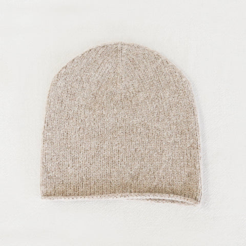 Crown Beanie - Oatmeal