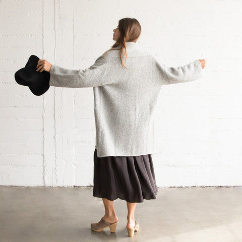 Short Shawl Cardigan - Felt