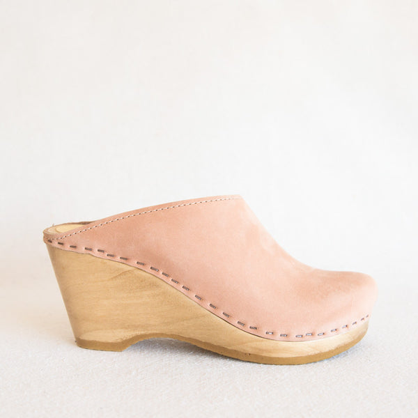 New School Clog - Pink Sand