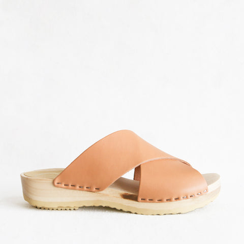 Frida Clog Flat - Naked