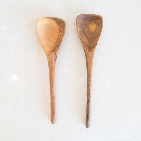 Olive Wood Serving Spoon