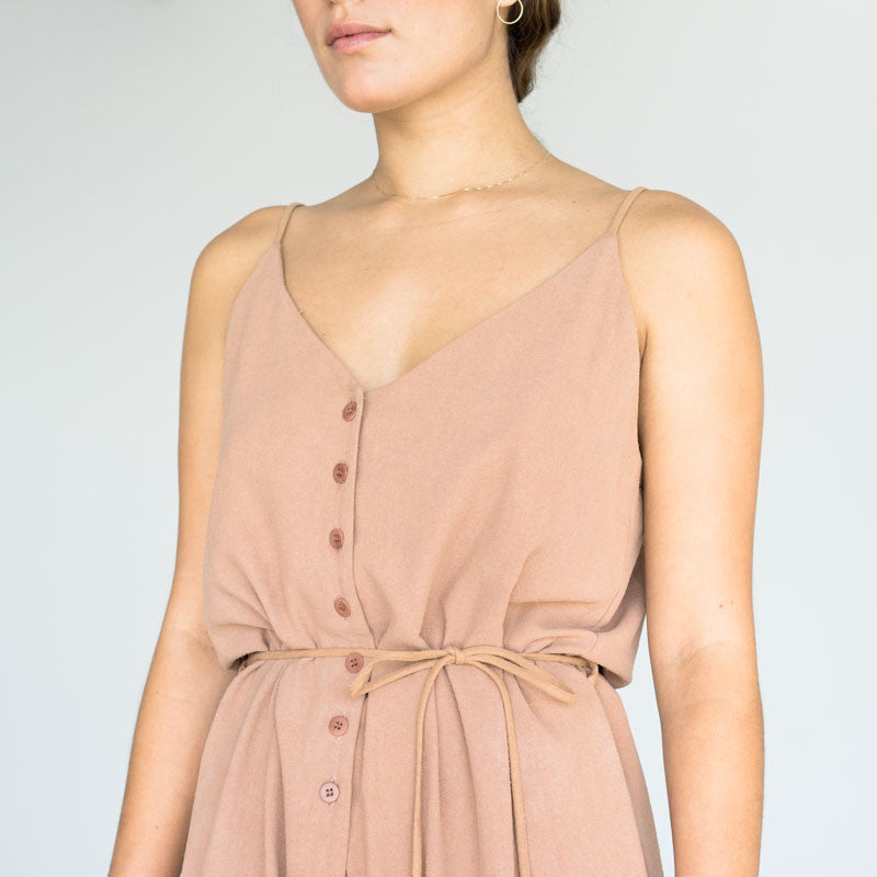 Cypress Playsuit - Sand
