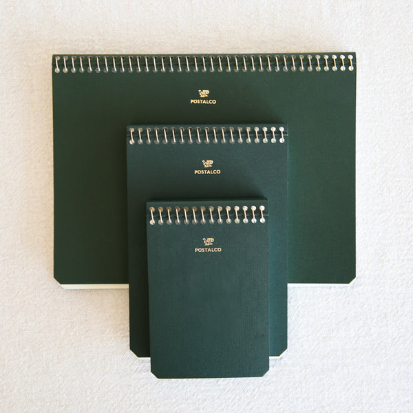 Pingraph Notebook - Bank Green