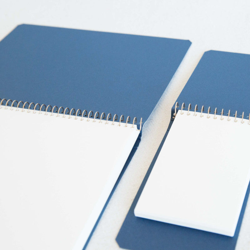 Cloud Blue Shibori Notebook
