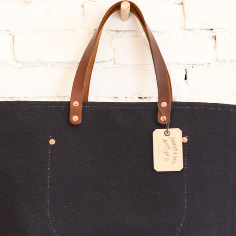 Canvas Coal Bag