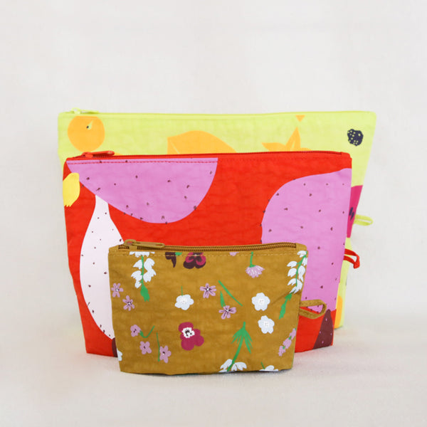 Go Pouch Set - Summer Plants