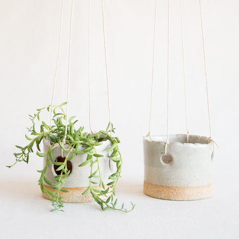 Hanging Planter - Grey