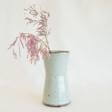 Victoria Morris Hourglass Vase In Robins Egg At General Store