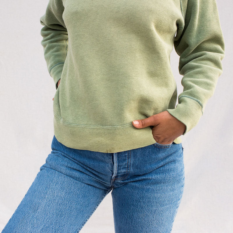 Faded Green Sweatshirt
