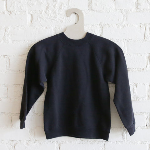 Kids Vintage Fleece - Black