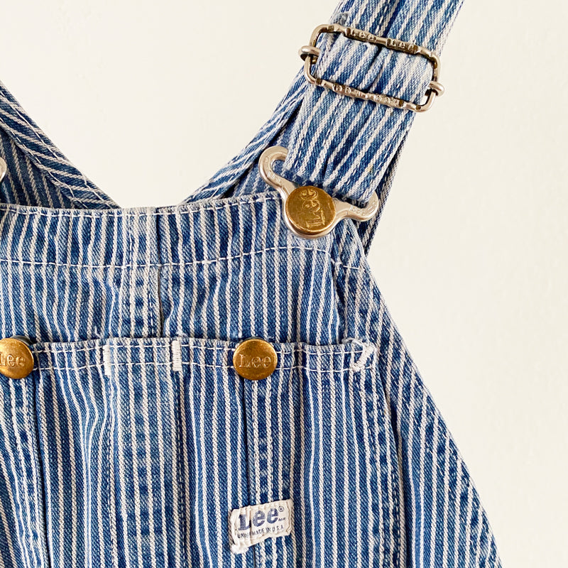 Kid's Striped Overalls