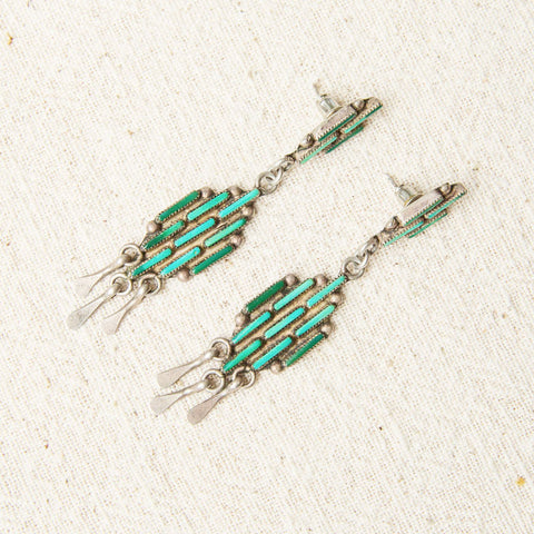 Zuni Turquoise Earrings