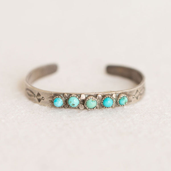 Turquoise Toddler Cuff