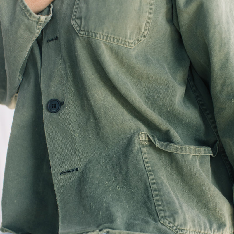 Green Workwear Jacket