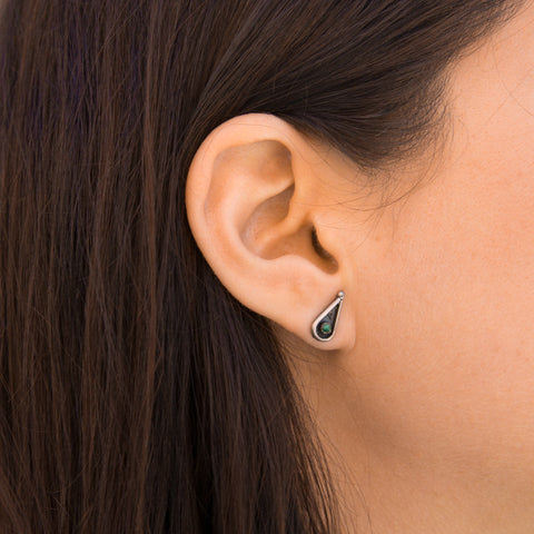 Zuni Post Earrings