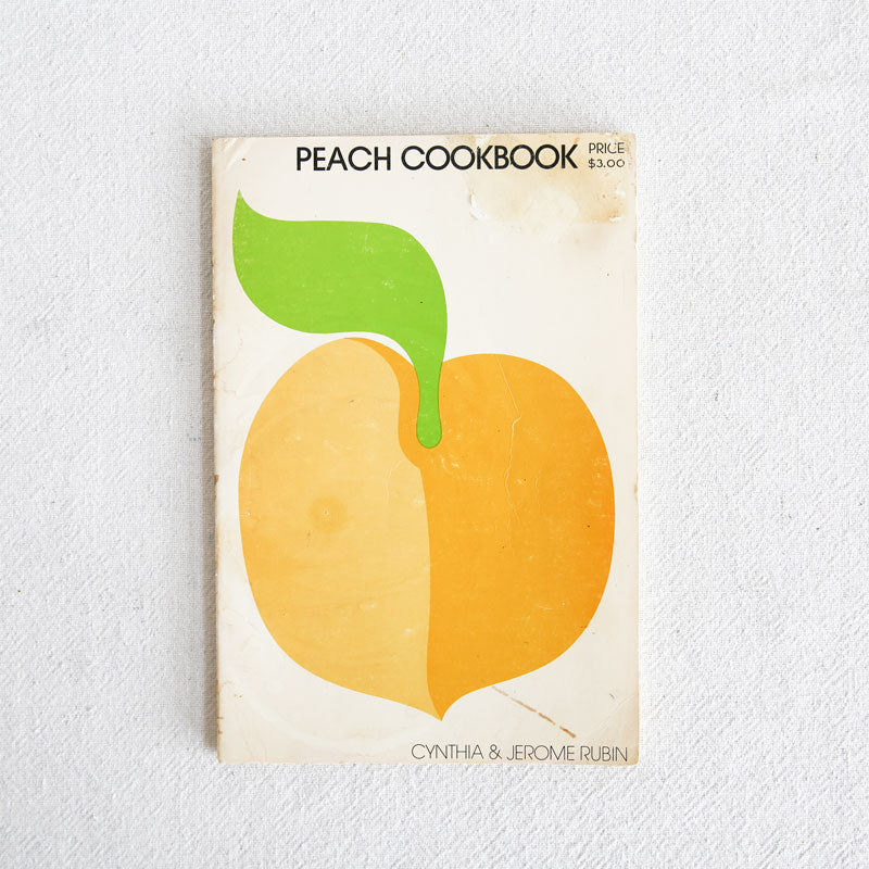 Cherry, Blueberry, and Peach Cookbooks