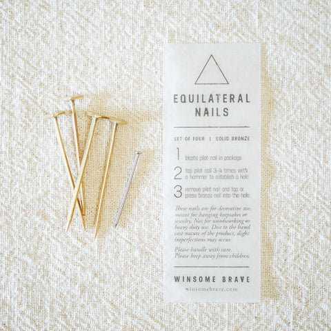Equilateral Nails