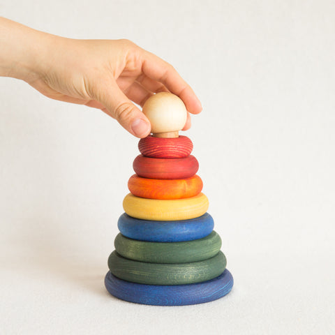 Wood Stacker - Rainbow