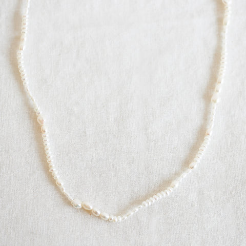 Pearl Collage Necklace