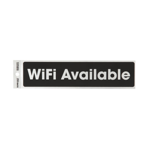 Wifi Available Decal