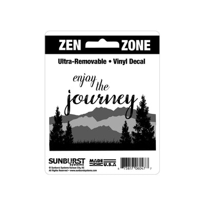 "4"" x 5"" Enjoy the Journey Decal"