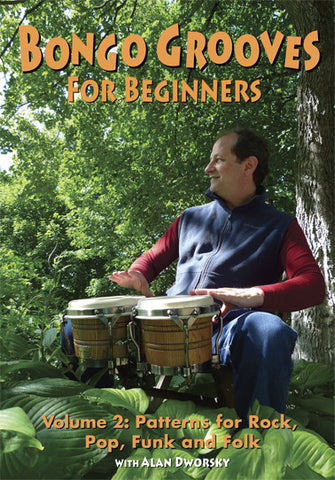 Bongo Grooves for Beginners, Volume 2 DVD