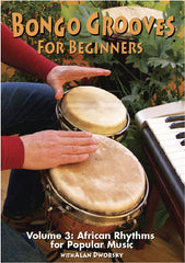 Bongo Grooves for Beginners, Volume 3 DVD