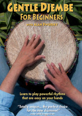 Gentle Djembe for Beginners DVD, Vol. 1: Learn to Play