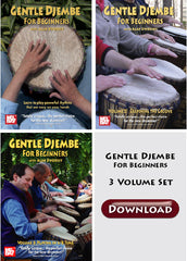 Gentle Djembe DVD series: All 3 volumes as a package deal (download)