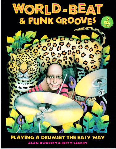 Download of World-Beat & Funk Grooves: Playing a Drumset the Easy Way