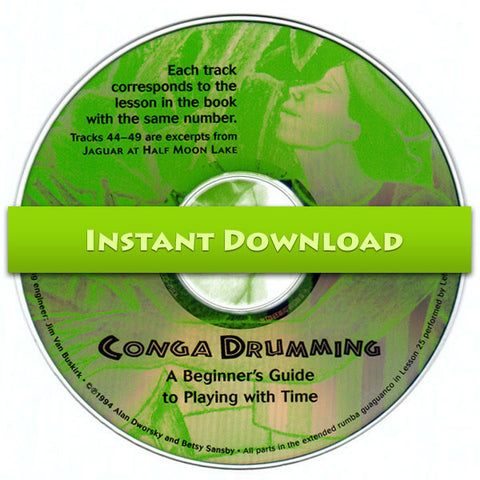 Download of Conga Drumming CD