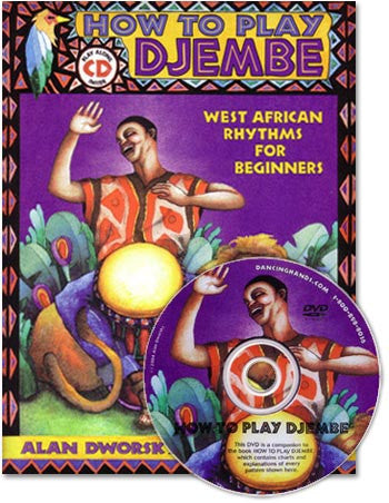 How to Play Djembe-book, CD, and DVD