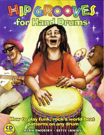 Download of Hip Grooves for Hand Drums book, CD, and DVD