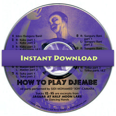 Download of How to Play Djembe CD