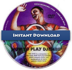 Download of How to Play Djembe DVD