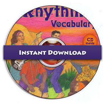Download of A Rhythmic Vocabulary Patterns CDs (2 CDs)