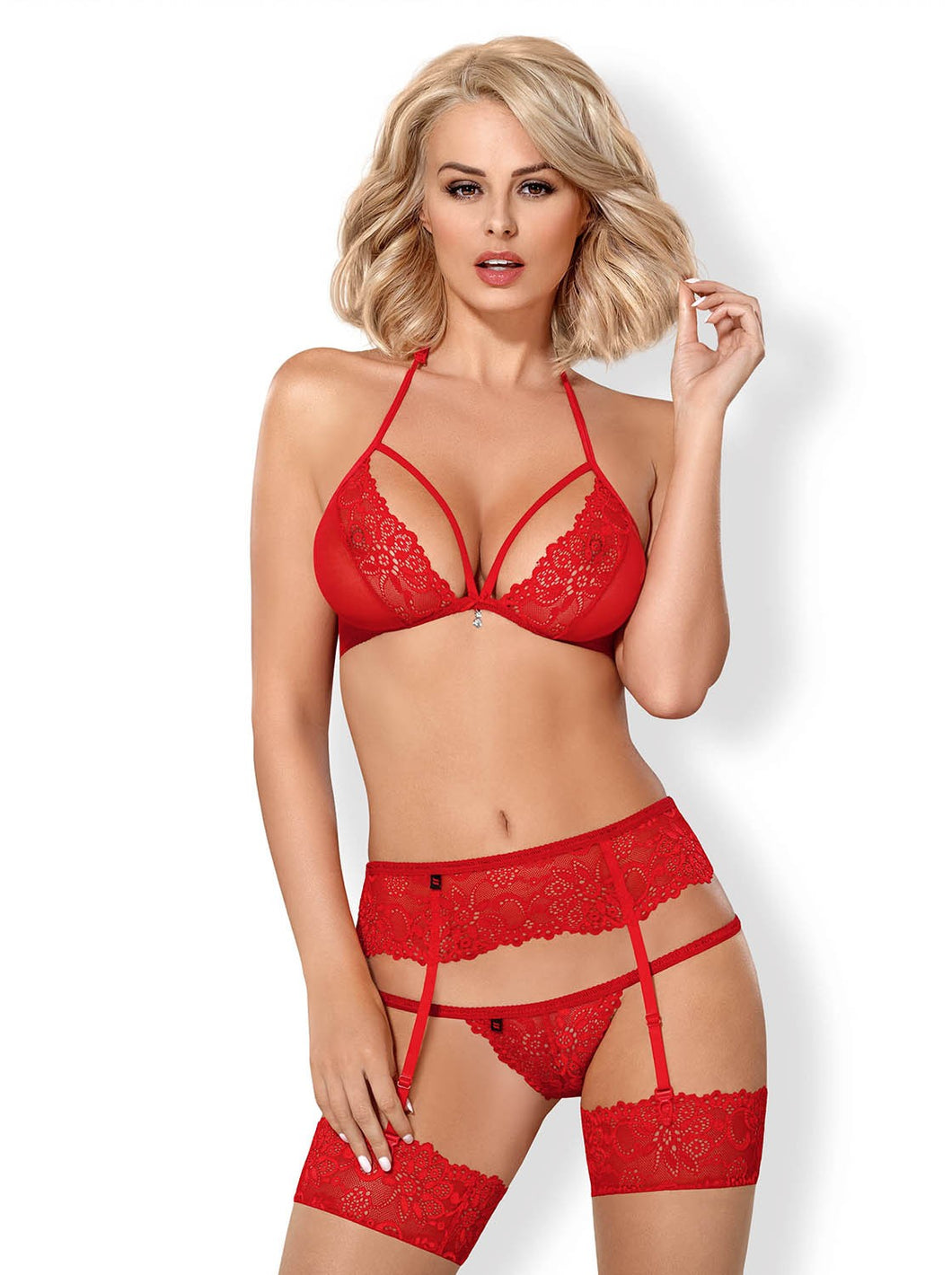 Brilhantina Ensemble 3 pcs - Rouge