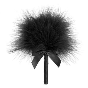 Tickle Me Tickler Plumeau - Noir