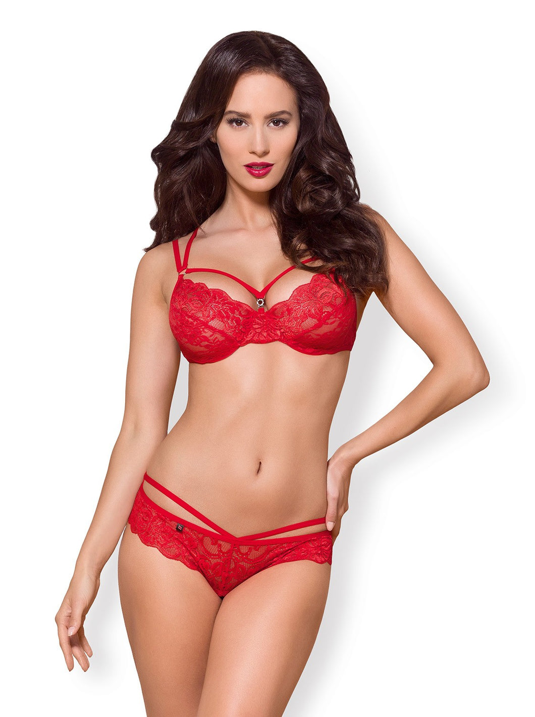 Sacha Ensemble 2 pcs - Rouge