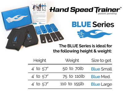 Hand Speed Trainer - Blue Size