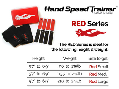Hand Speed Trainer - Red Size