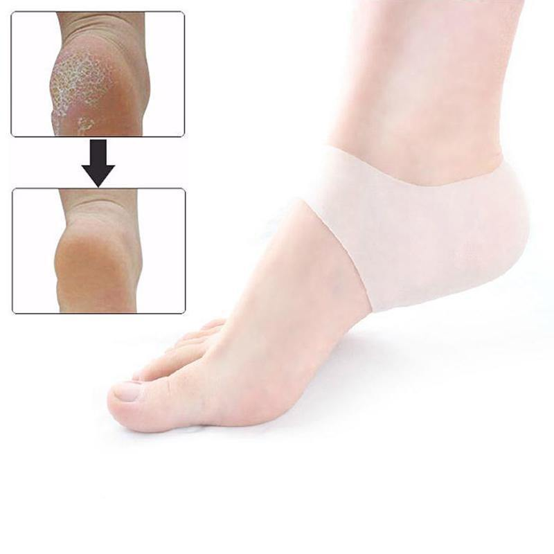 Silicone Gel Protective Heel and Ankle Sleeve - Everlyfave