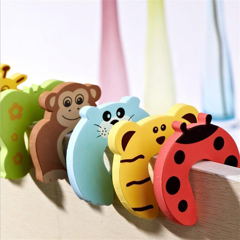 Baby Safety Door Stopper 10pcs - Everlyfave